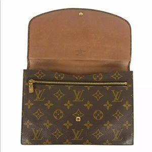 Authentic Louis Vuitton Rabat envelope Clutch